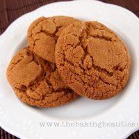Soft Gluten-Free Ginger Cookies