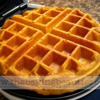 The Ultimate Gluten Free Pumpkin Waffles