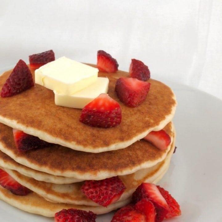 Gluten Free Yeast Pancakes