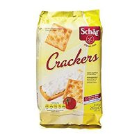 Dr SCHÄR - GLUTEN FREE - TABLE CRACKERS - 210gr x 3 BOXES