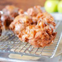 Easy Gluten Free Apple Fritters