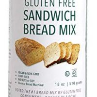 gfJules Gluten Free Sandwich Bread Mix- Voted #1 by GF Consumers 1.11 lbs, Pack of 1