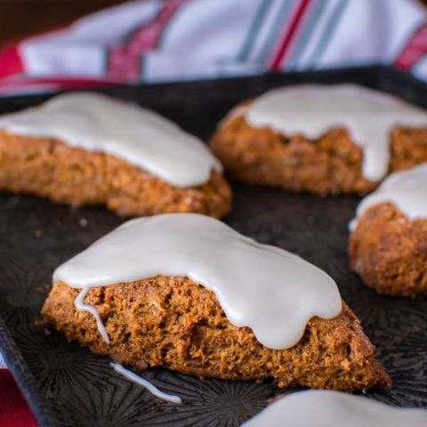 Gluten Free Gingerbread Scones