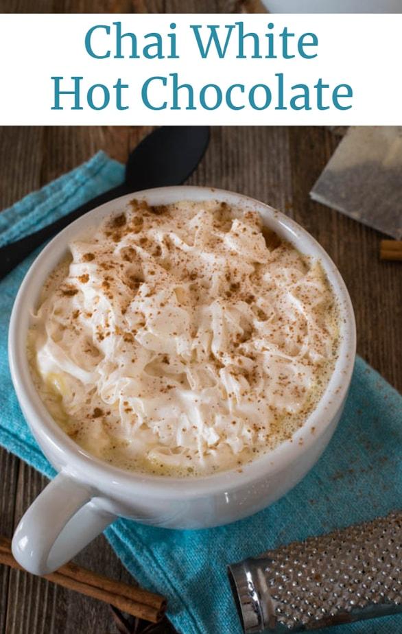 3 Ingredient Chai White Hot Chocolate recipe
