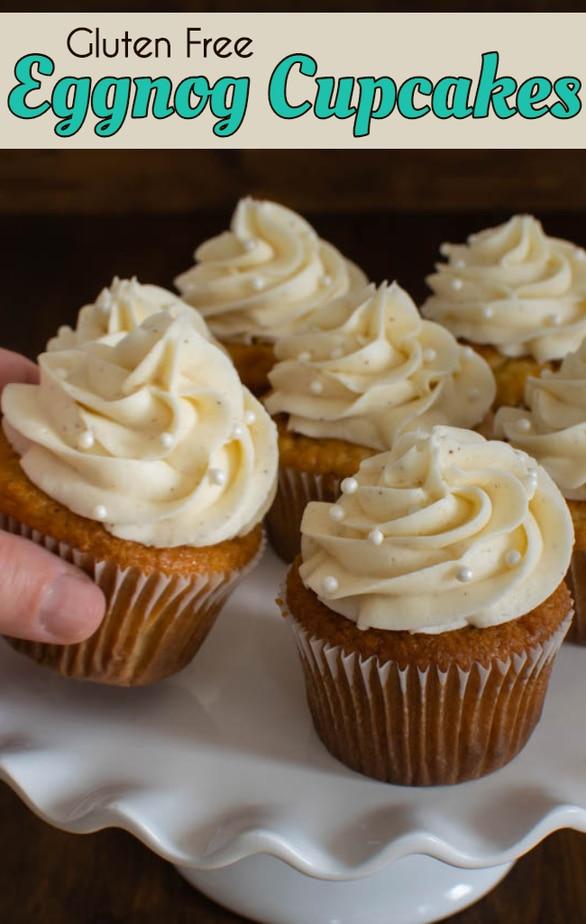 Gluten Free Eggnog Cupcakes recipe