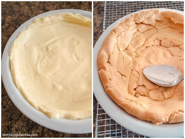 How to make a cream puff pie crust