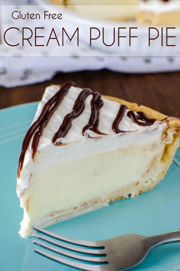 Gluten Free Cream Puff Pie recipe