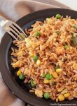 No Chinese meal is complete without this Restaurant Style Fried Rice. Serve it alongside our Gluten Free Chicken Balls to fill your craving for take-out.