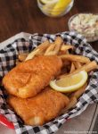 You won't believe how easy it is to make your own Gluten Free Beer Battered Fish at home. Add a side of  hot fries and some creamy coleslaw, and you've got the perfect pub dinner.
